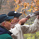 A sporting clays shooting lesson at the Nemacolin Field Club